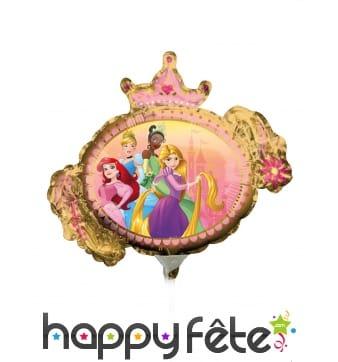 Ballon Princesses Disney recto verso de 23 cm