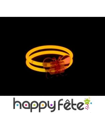 Bracelet papillon lumineux