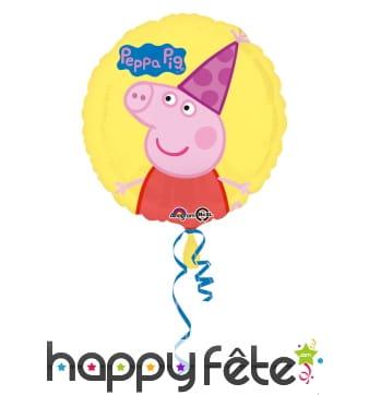 Ballon Peppa pig rond