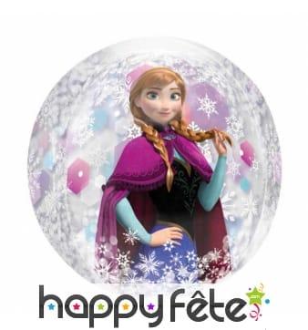 Ballon rond de Anna, la Reine des Neiges