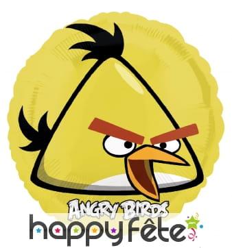 Ballon rond de Chuck en aluminium, Angry Birds
