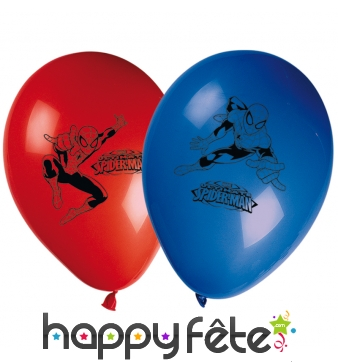 Ballons ronds imprimé Ultimate Spider man