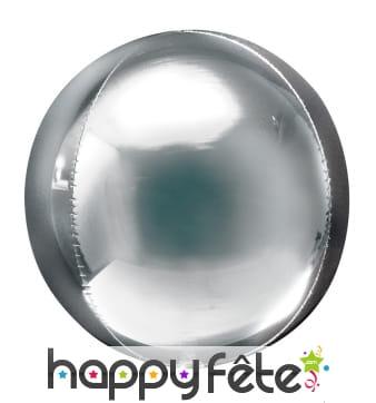 Ballon rond métallisé de 40cm