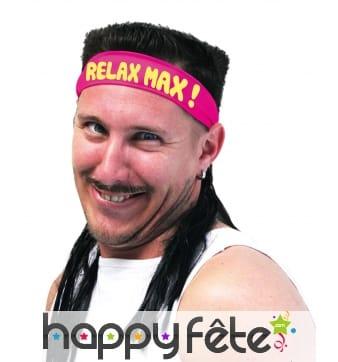 Bandeau rose Relax Max avec coupe mulet