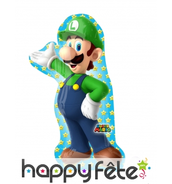 Ballon silhouette de Luigi , 50 x 96 cm