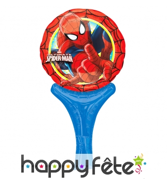 Ballon spiderman de 15 x 30cm