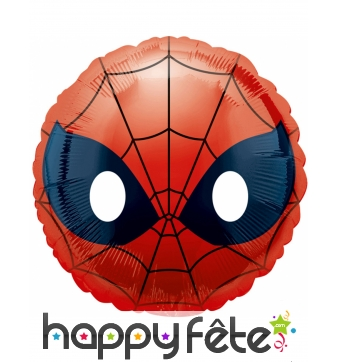 Ballon Spiderman émoticone de 43cm