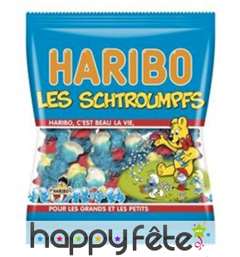 Bonbons Schtroumpfs Haribo