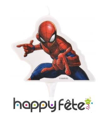 Bougie Spider-Man de 7cm