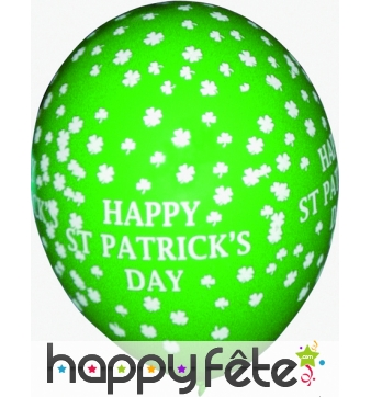 Ballons saint patrick's