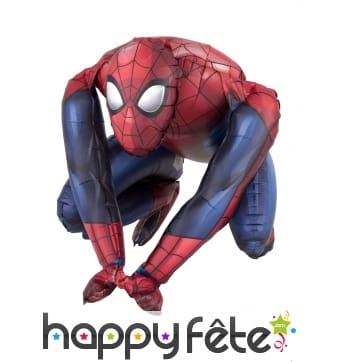 Ballon silhouette Spiderman de 38 cm