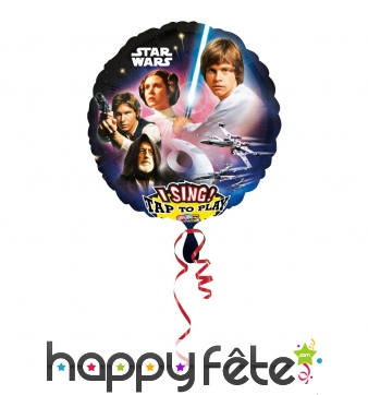 Ballon Star Wars musical