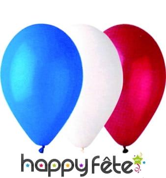 Ballons tricolores