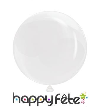 "Ballon translucide ""bulles"""