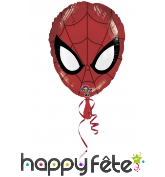 Ballon tête de Spiderman