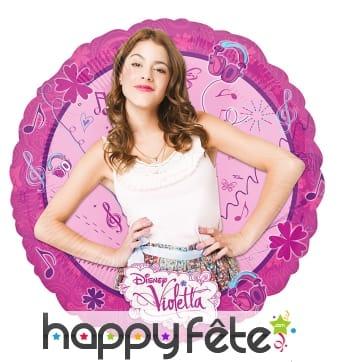 Ballon Violetta à gonfler