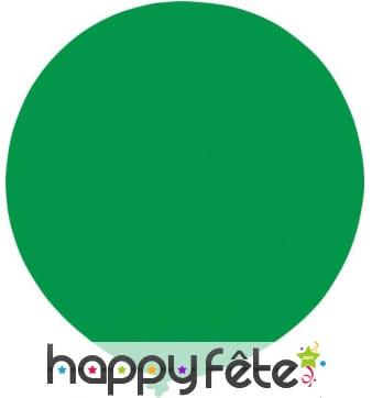 Ballon vert géant. circonférence 4.5 m
