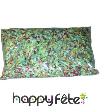 Confettis 1kg multicolores