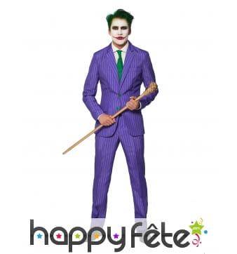 Costume 3 pièces du Joker pour homme