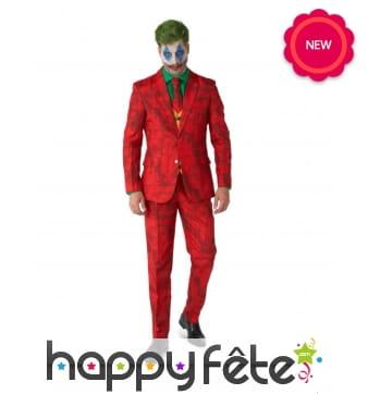 Costume 4 pièces du Joker pour adulte