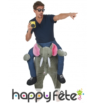 Costume à dos d'éléphant