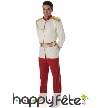 Costume adulte de Prince charmant