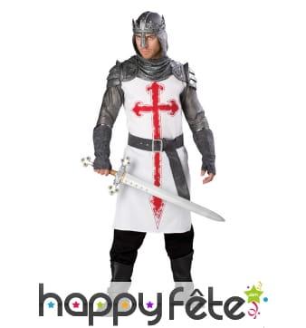 Costume armure de templier haut de gamme