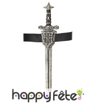 Ceinture avec épée de Chevalier, 61cm