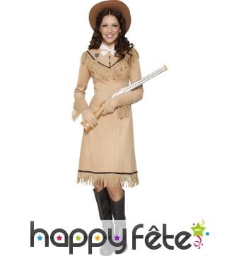 Costume Annie Oakley du Western