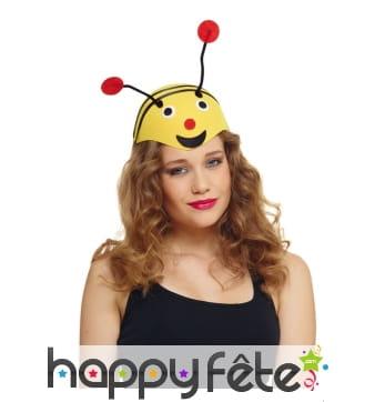 Chapeau abeille pour adulte