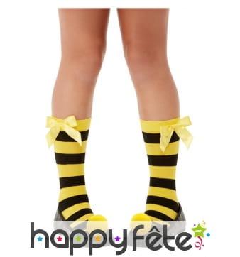 Chaussettes abeille pour enfant
