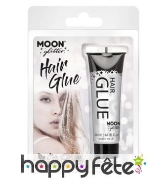 Colle à paillettes pour cheveux en tube de 15ml