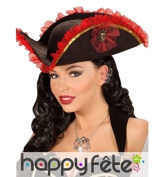 Collier avec pendentifs sur le thème des pirates