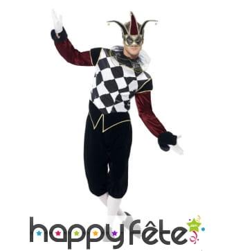 Costume arlequin Vénitien gothique
