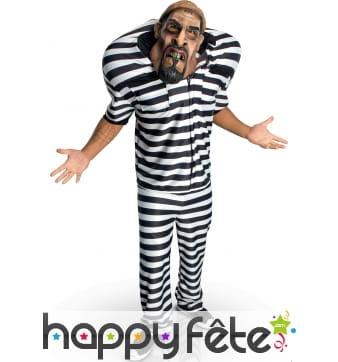 Costume Big bruizers de prisonnier