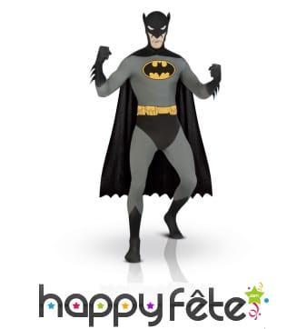 Combinaison Batman comics seconde peau