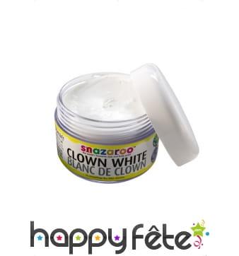 Crème blanche clown
