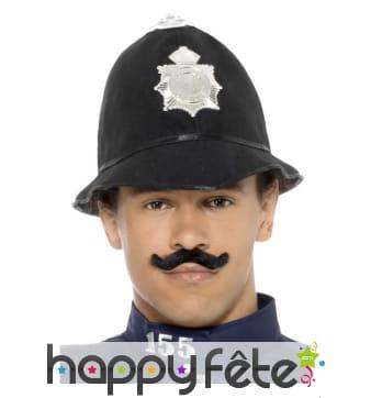 Chapeau bombe de police anglaise