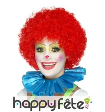 Collerette bleue de clown