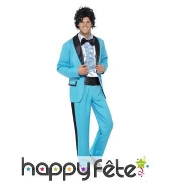 Costume bal de promo années 80 pour homme