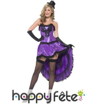 Costume burlesque glamour
