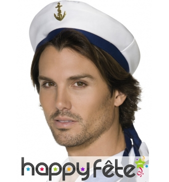 Chapeau blanc marin