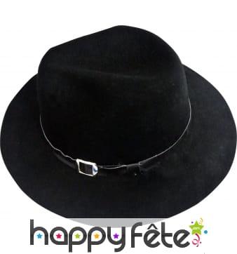 Chapeau bogart noir