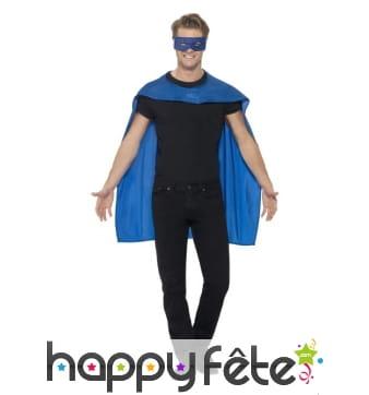 Cape bleue pour adulte