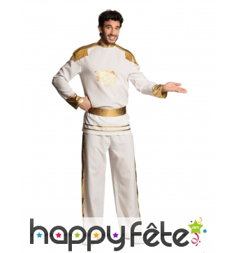 Costume blanc prince oriental pour homme