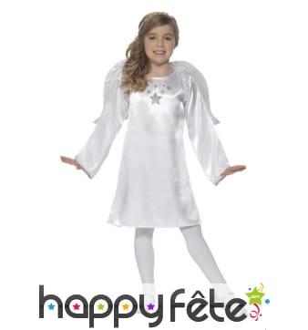 Costume blanc uni de petit ange
