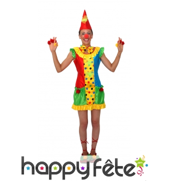 Costume clownette