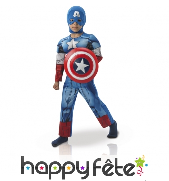 Costume captain america the winter soldier, enfant
