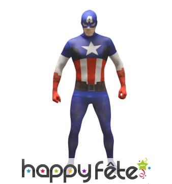Combinaison classique Captain America, Morphsuit
