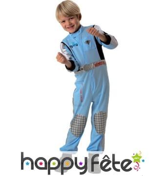 Costume Cars de pilote pour petit garçon